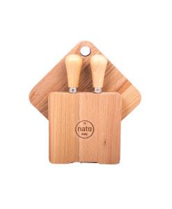 set coltelli e taglieri per formaggio