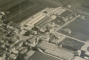 Foto aerea storica di Corno di Rosazzo