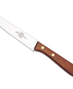 coltello da tavola manico legno