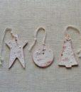 decorazioni ceramica natale bottoni e non solo