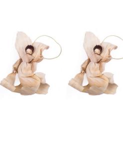 due angeli di Natale