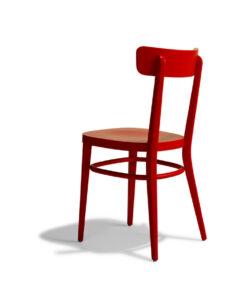 sedia Milano rossa