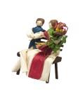 miniatura coppia di fidanzati