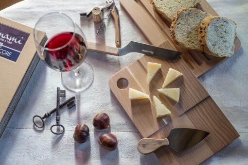 set coltelli formaggio e vino Lamami