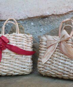 coppia di borsine in cartoccio