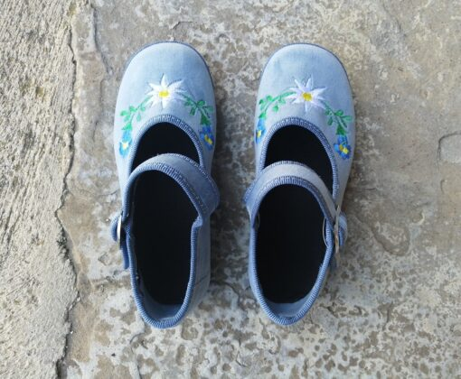 Scarpets bimba azzurro