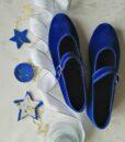 Scarpets Blu cinturino