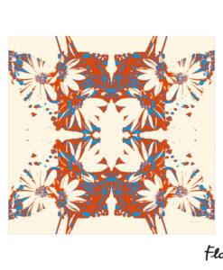 foulard_gerbera_flors